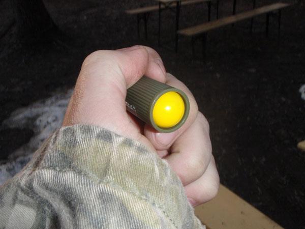 Зарядка шарика в картридж